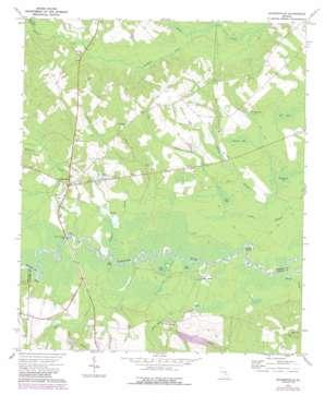 Jacksonville topo map