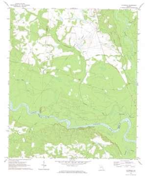 Altamaha topo map