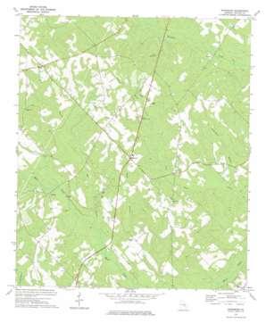 Workmore topo map