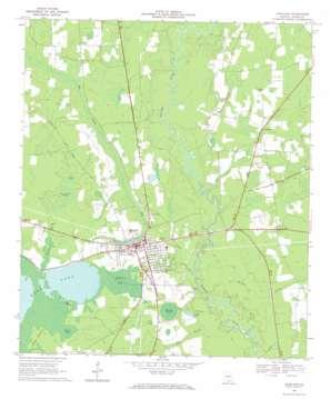 Lakeland topo map