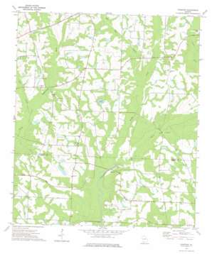 Chastain topo map