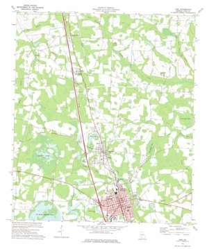 Adel topo map