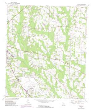 Pineboro topo map
