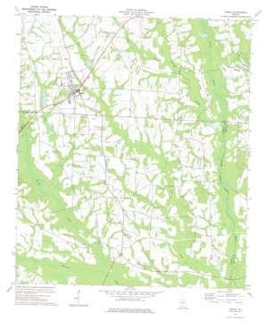 Omega topo map