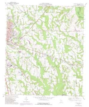 Tifton East topo map