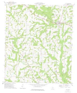 Ty Ty topo map