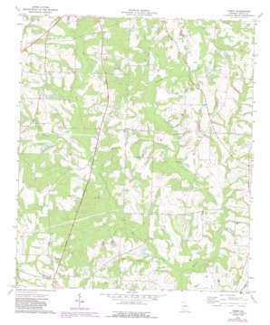 Tempy topo map
