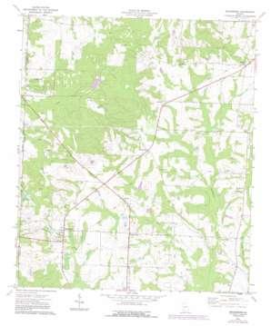 Bridgeboro topo map