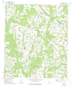 Ambrose topo map