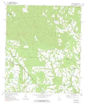 Osierfield topo map