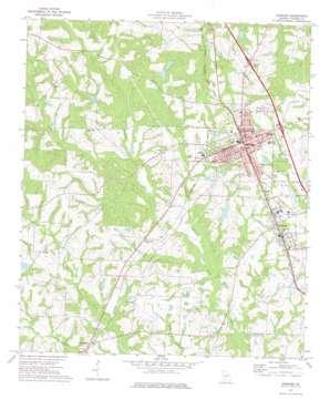 Ashburn topo map