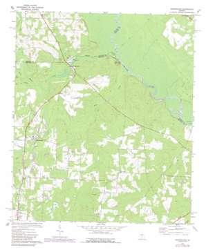 Queensland topo map