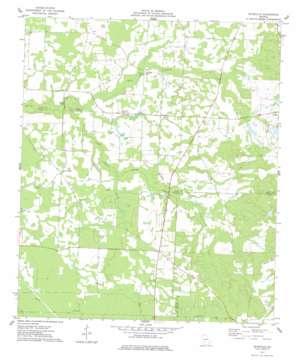 Pateville topo map