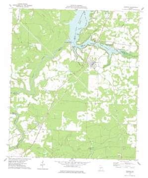 Warwick topo map