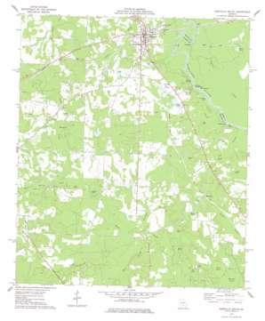 Abbeville South topo map