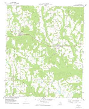 Pitts topo map