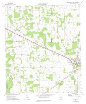 Donalsonville West topo map