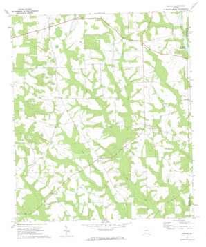 Cotton topo map
