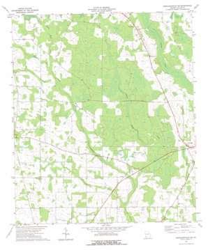 Donalsonville Ne topo map