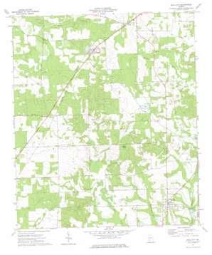 Sale City topo map