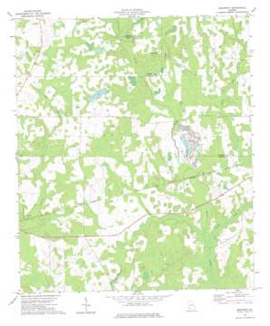 Bancroft topo map