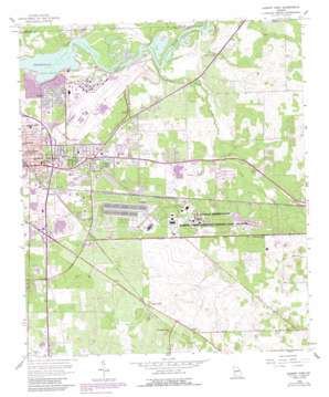 Albany East topo map