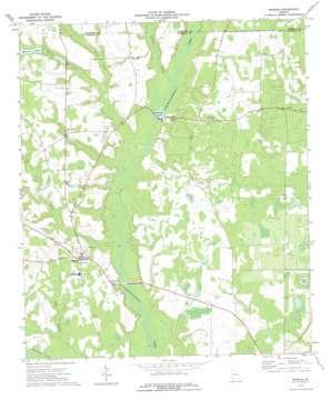 Morgan topo map