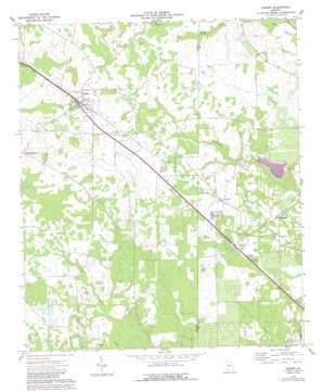 Sasser topo map