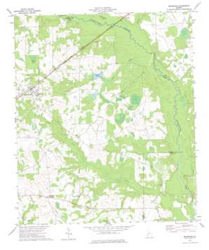 Bronwood topo map