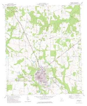 Dawson topo map