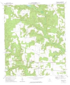 Brooksville topo map