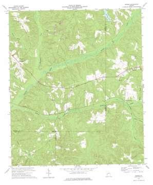 Morris topo map