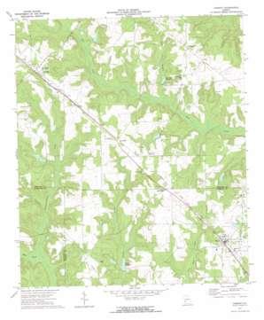 Parrott topo map