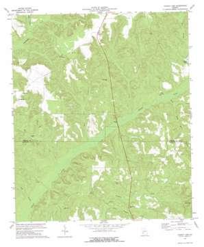 County Line topo map