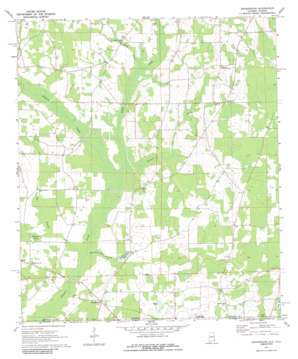 Grangeburg topo map