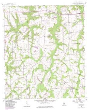 Malvern topo map