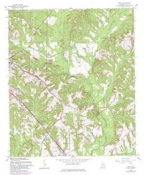 Ewell topo map