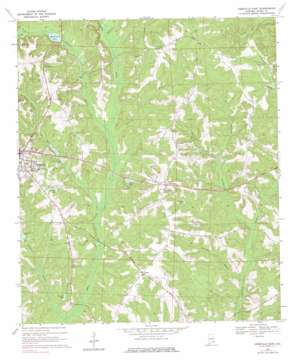 Abbeville East topo map