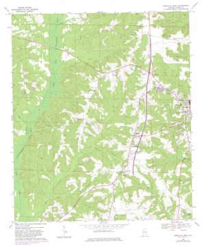 Abbeville West topo map