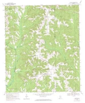 Clopton topo map