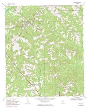 Ariton topo map
