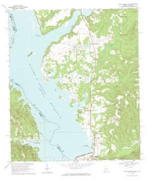 Fort Gaines Ne topo map