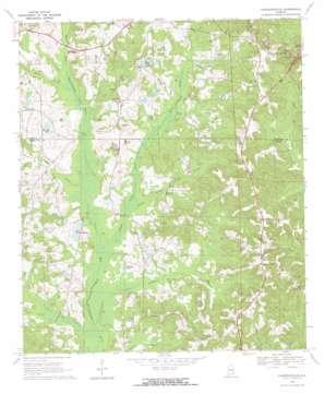 Lawrenceville topo map