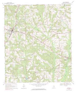 Clio topo map