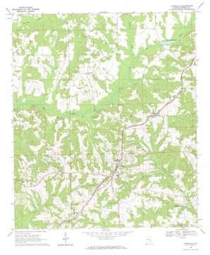 Louisville topo map