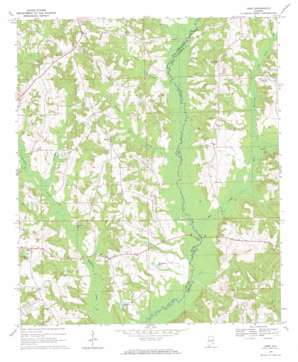Josie topo map