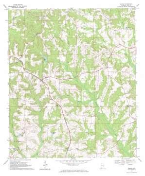 Banks topo map
