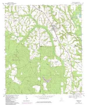 Kinston topo map