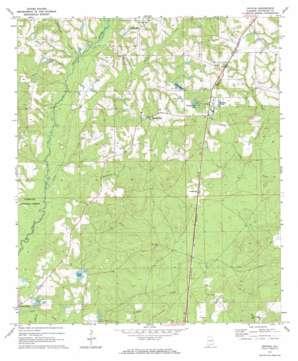 Onycha topo map