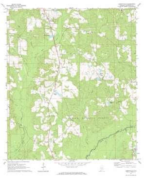 Libertyville topo map